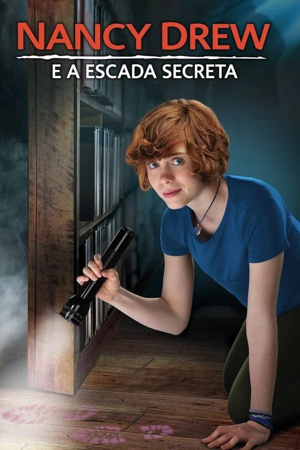 Nancy Drew e a Escada Secreta poster, capa, cartaz