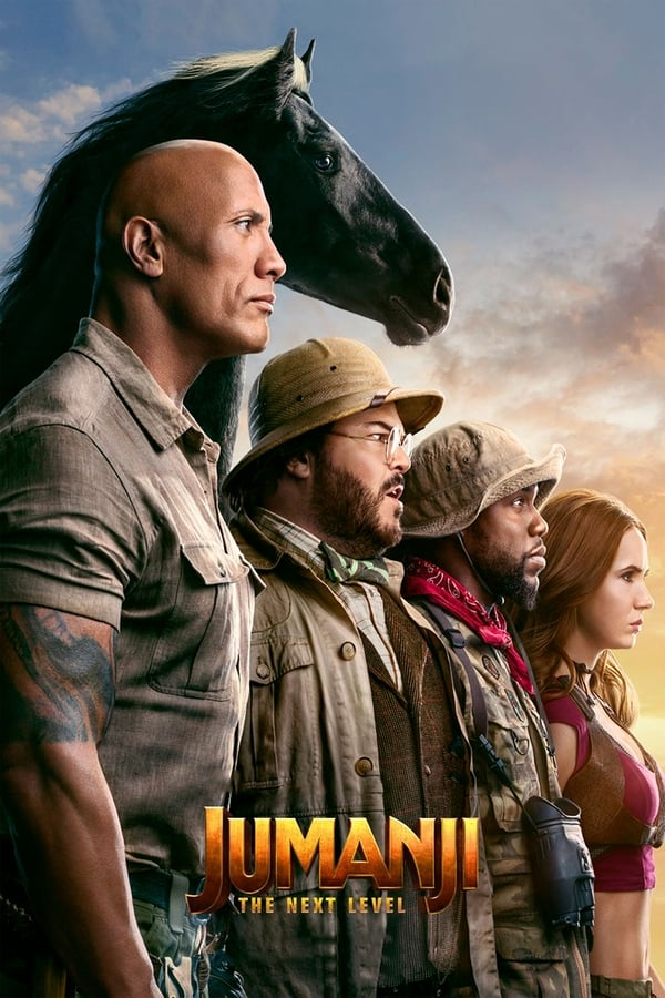 Jumanji: The Next Level (2019) Hindi + English [Dual Audio] 720p HDCam | 1 GB | Download | Watch Online