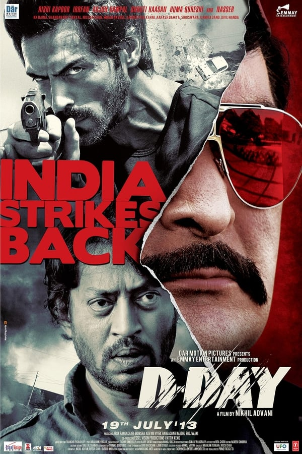 D-Day (2013) Hindi   x264 Blu-Ray   1080p   720p   480p   Download   Watch Online   GDrive   Direct Links
