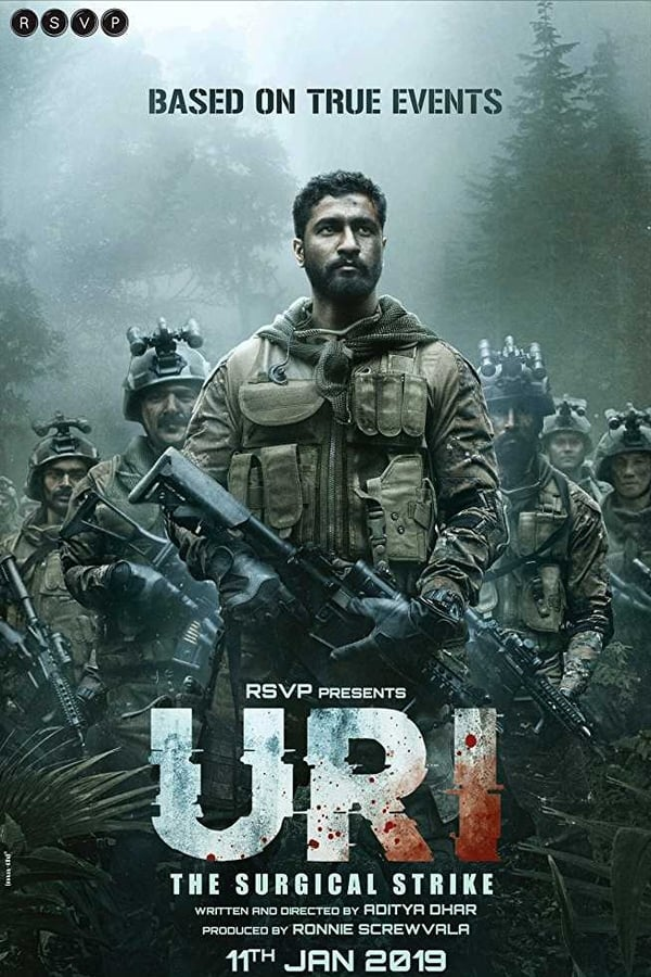 Uri: The Surgical Strike (2019) Hindi 1080p | 720p | 480p Blu-Ray | 3GB, 1GB, 450MB | Download | Watch Online | Direct Links | GDrive