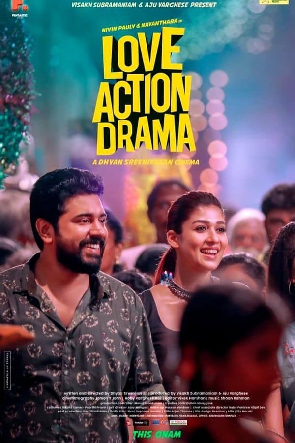 Love Action Drama (2019) Malayalam Full Movie 1080p WEB-DL | 720p | 1.20 GB, 735 MB | Download | Watch Online | Direct Links | GDrive