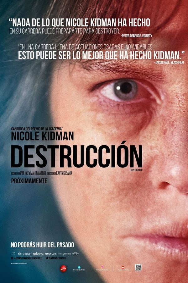 Destrucción. Una mujer herida