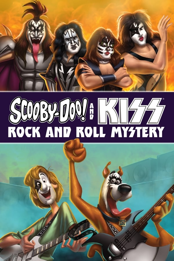 |FR| Scooby Doo and Kiss Rock and Roll Mystery