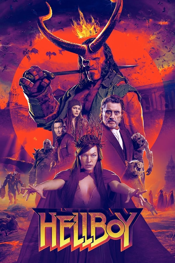 Hellboy (2019) English 1080p | 720p | Blu-Ray | 2GB 1GB | Download | Watch Online | Direct Links | GDrive
