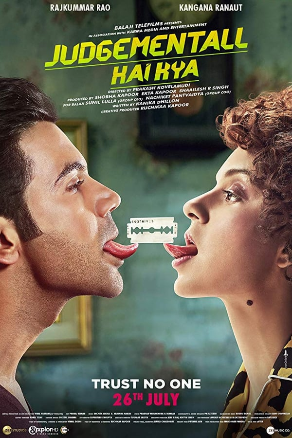 Judgementall Hai Kya (2019) Hindi 1080p WEB-DL | 720p | 480p | 1.75 GB, 1 GB, 400 MB | Download | Watch Online | Direct Links | GDrive