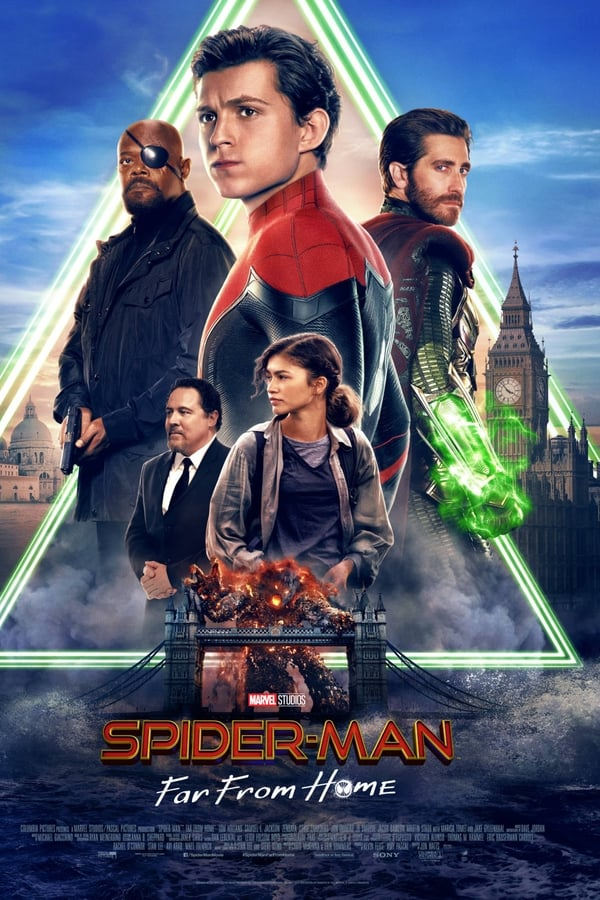 Spider-Man: Far from Home (2019) Hindi + English [Dual Audio] [Original Audio] 1080p | 720p | Blu-Ray | 2.3 GB, 1.4 GB | Download | Watch Online | Direct Links | GDrive