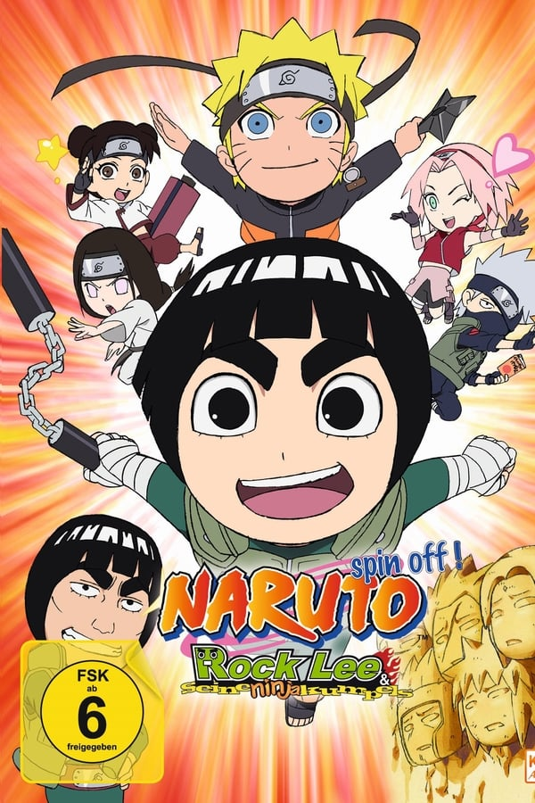 Assistir Naruto Spin-Off: Rock Lee & His Ninja Pals Online
