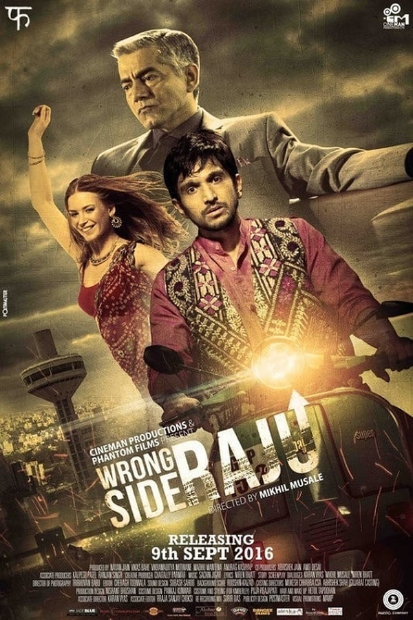 Wrong Side Raju (2016) Gujarati Full Movie 1080p WEB-DL | 720p | 480p | 1.4 GB, 1 GB, 400 MB | Download | Watch Online | Direct Links | GDrive
