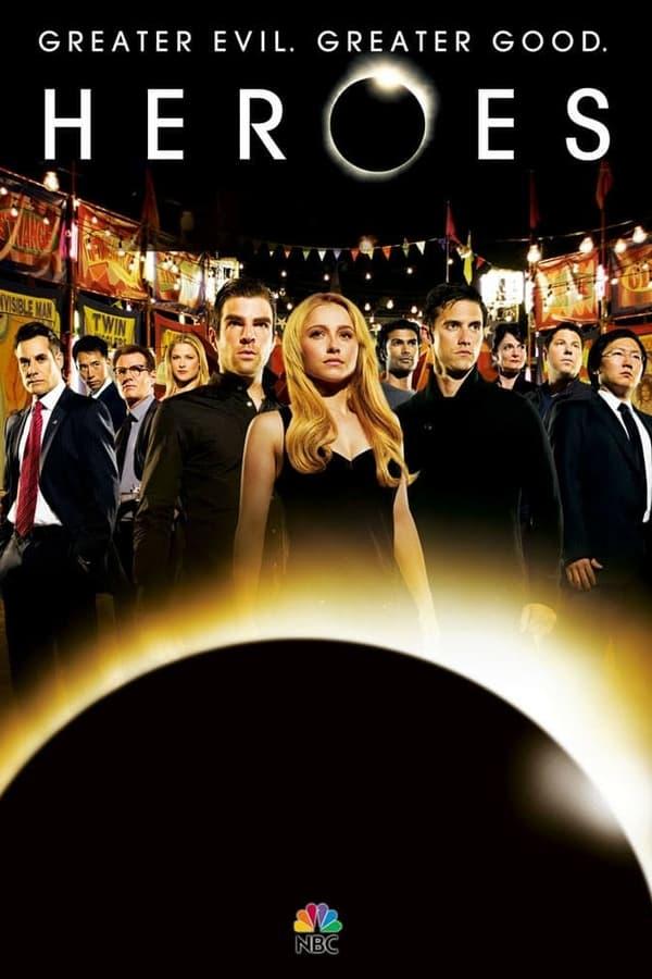 HEROES (2009) Cuarta Temporada REMUX 1080p Latino – CMHDD