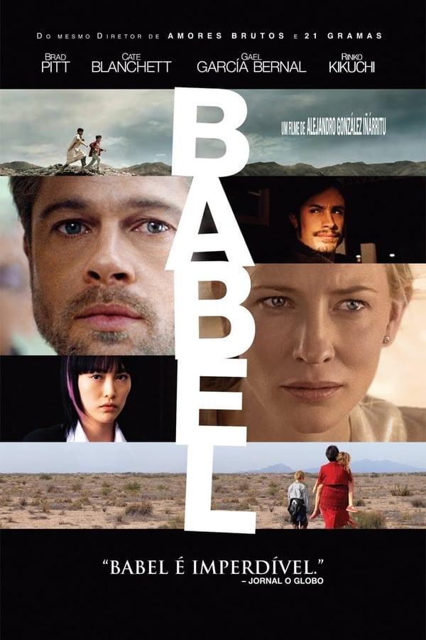 Babel poster, capa, cartaz