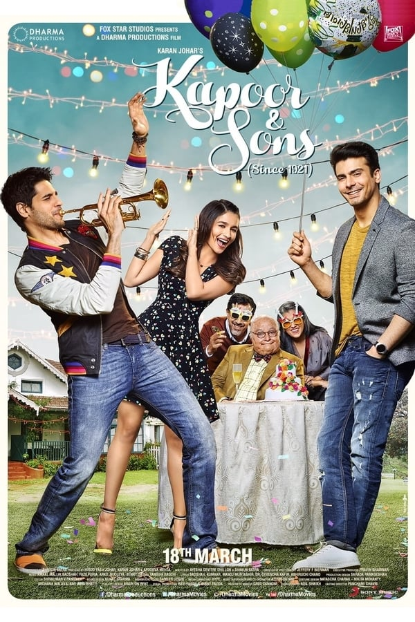 Kapoor & Sons (2016) Hindi | x264 Bluray | 1080p | 720p | Download | Watch Online | GDrive | Direct Links