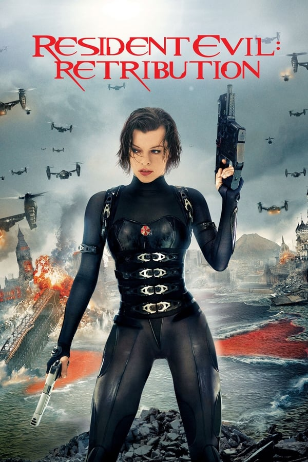 Resident Evil: Retribution (2012) [Hindi+English] | x265 10Bit BluRay HEVC | 1080p | 720p | 480p | Download | Watch Online | GDrive | Direct Links