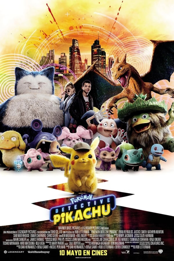 Imagen Pokémon Detective Pikachu