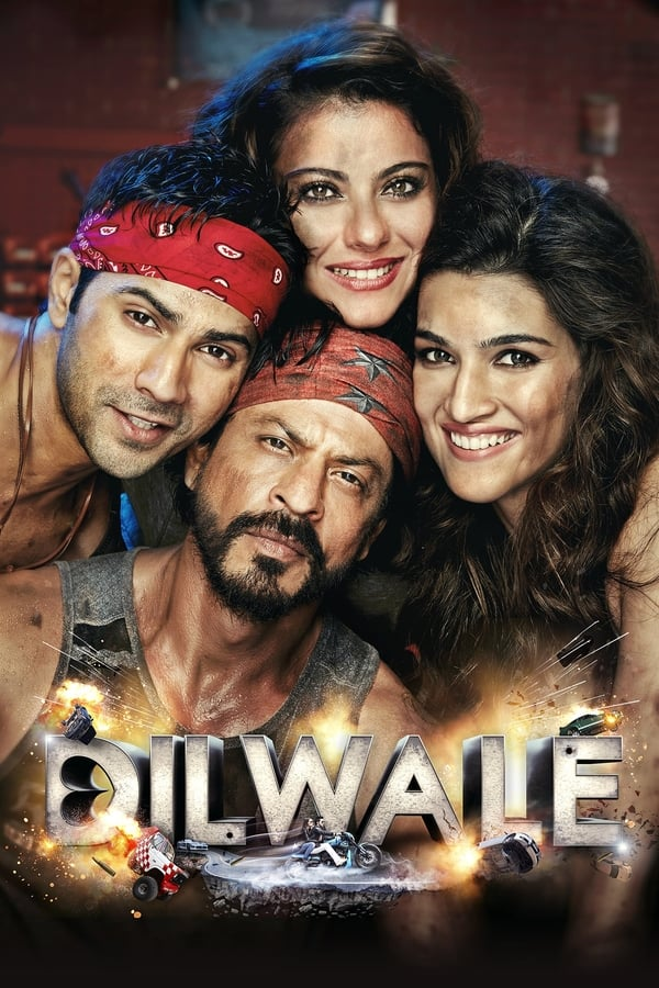 Dilwale (2015) Hindi | x264 Blu-Ray | 1080p | 720p | 480p | Download | Watch Online | GDrive | Direct Links