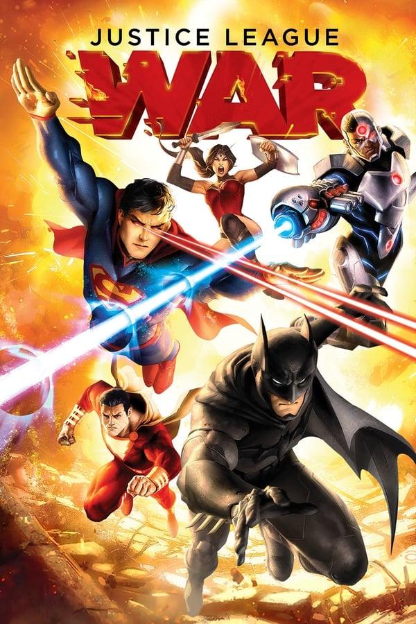 Imagem Liga da Justiça: Guerra