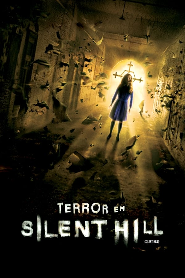 Terror em Silent Hill poster, capa, cartaz