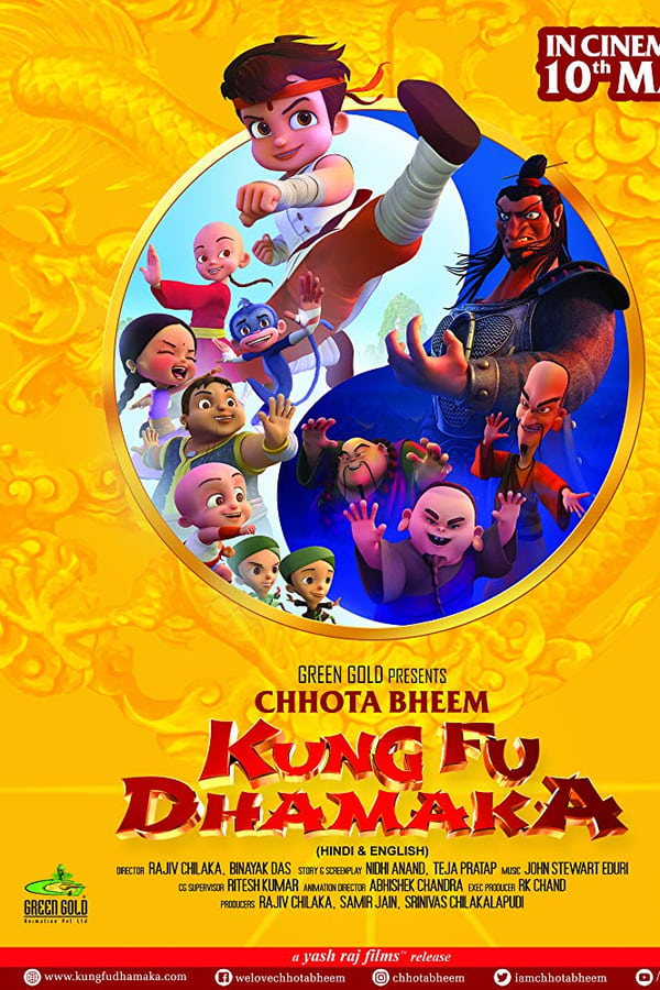 Chhota Bheem Kung Fu Dhamaka (2019) Hindi + Tamil + English [Multi Audio] 1080p | 720p | 480p HDRip | 1.2GB, 800MB, 400MB | Download | Watch Online | Direct Links | GDrive
