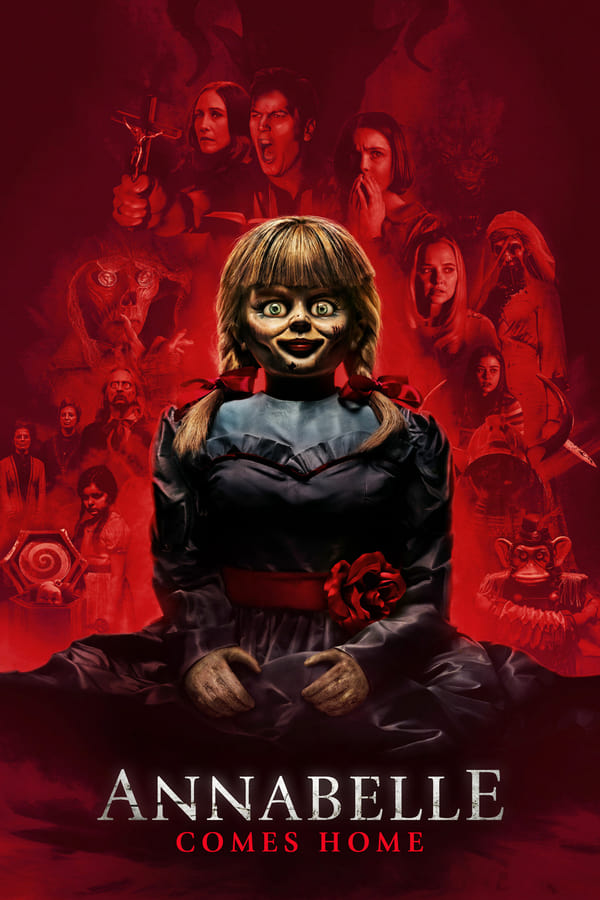 Annabelle Comes Home 2019 1080p BluRay { Hin+Tamil + Telugu }  Multi DD.5.1 x264-Telly | 2.6 GB