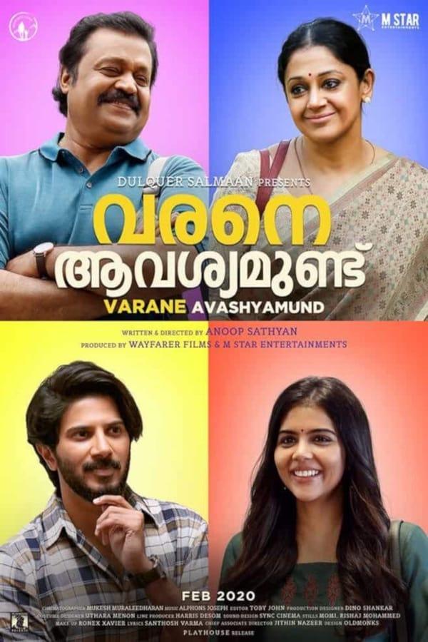 Varane Avashyamund (2020) Malayalam | x265 10bit NF WEB-Rip HEVC | 1080p | 720p | 480p | Download | Watch Online