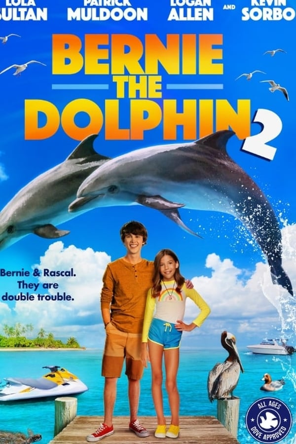 Bernie the Dolphin 2 (2019) English 1080p | 720p | WEB-DL | 1.55GB,880MB | Download | Watch Online | Direct Links | GDrive