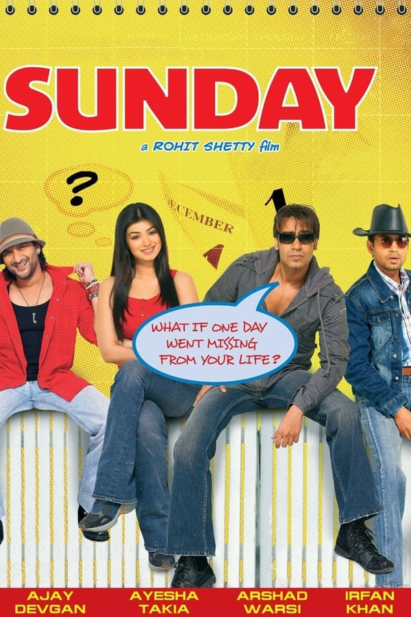 Sunday (2008) Hindi Full Movie 720p WEBRip | 1 GB | Download | Watch Online | Direct Links | GDrive