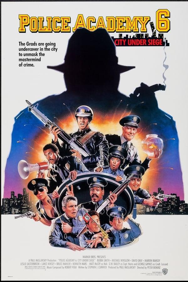 პოლიციის აკადემია 6 / Police Academy 6: City Under Siege ქართულად