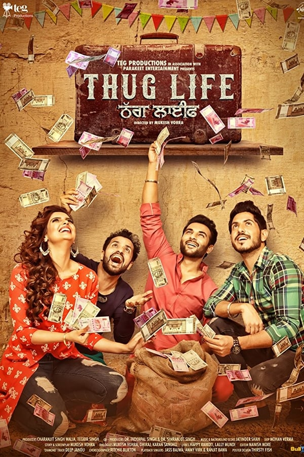 Thug Life (2017) Punjabi Full Movie 1080p WEB-DL | 720p | 480p | 1.45 GB, 1 GB, 400 MB | Download | Watch Online | Direct Links | GDrive