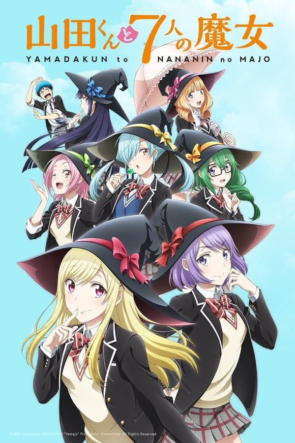 Assistir Yamada-kun and the Seven Witches