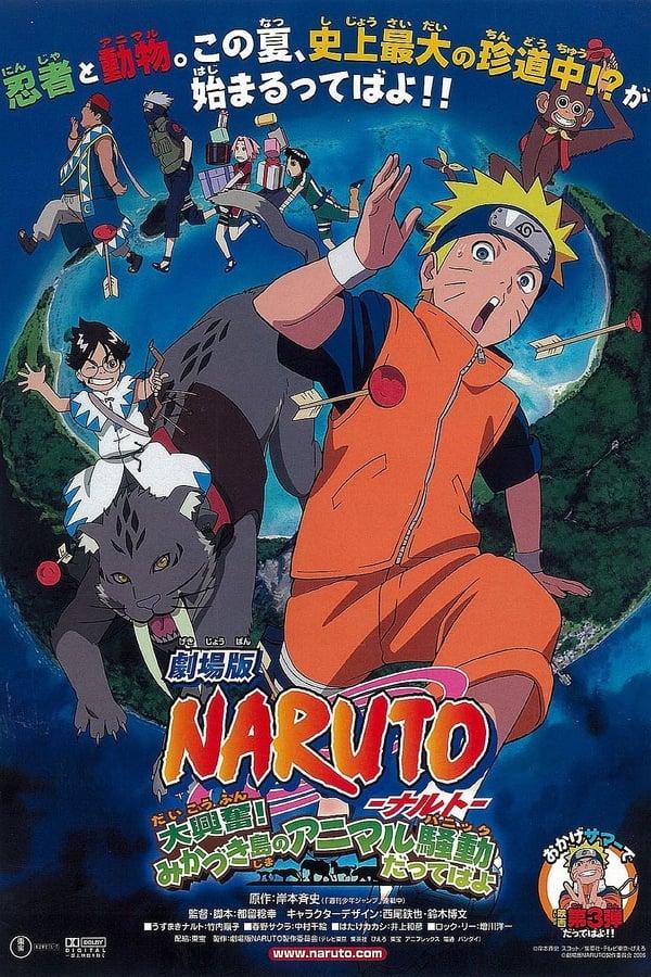 Assistir Naruto 3: A Revolta dos Animais da Lua Crescente! Online
