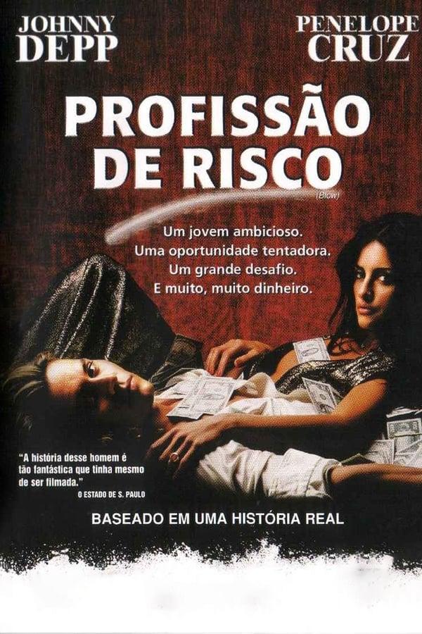 Profissão de Risco poster, capa, cartaz
