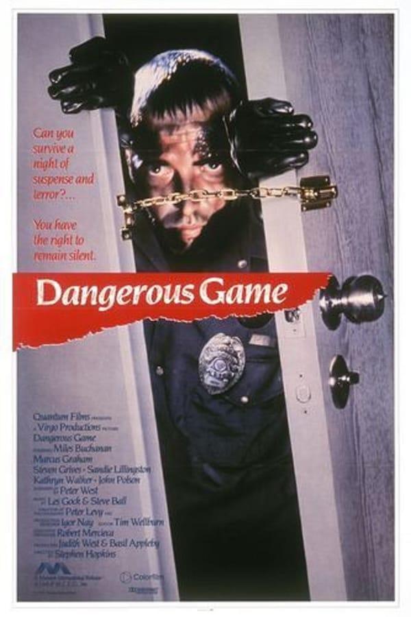 Juego peligroso (Dangerous Game)  Maníaco