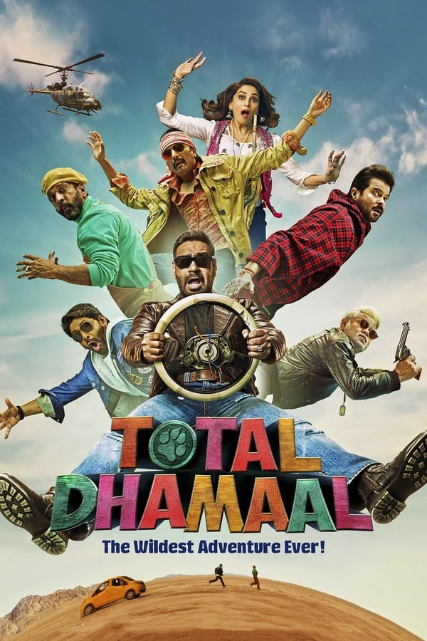 Total Dhamaal (2019) Hindi Full Movie 1080p WEB-DL | 720p | 2.2GB | 1.2GB | Download | Watch Online | Direct Links | GDrive