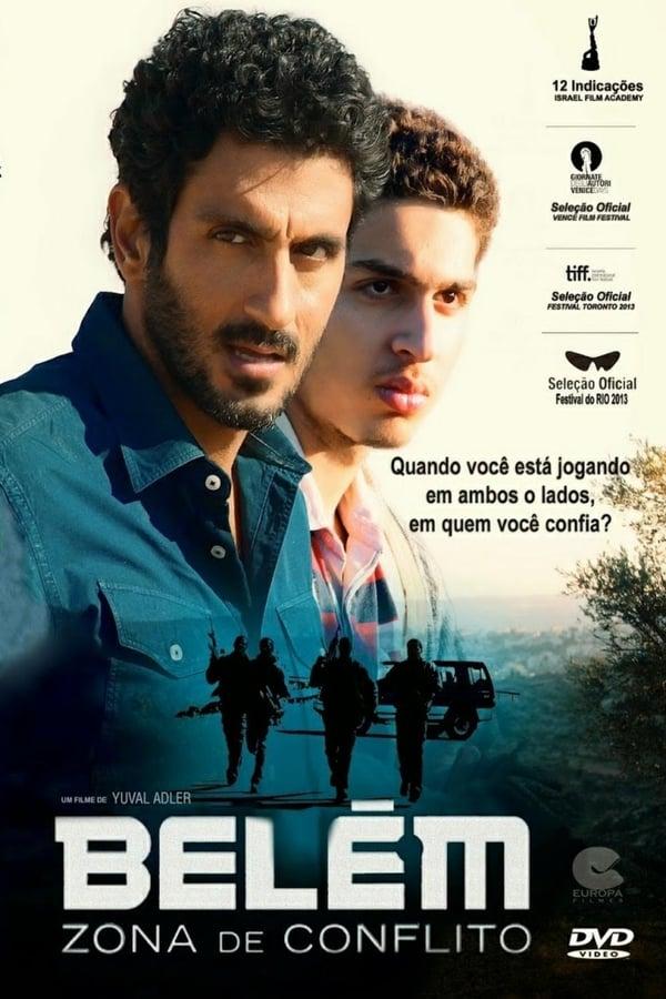 Belém: Zona de Conflito poster, capa, cartaz