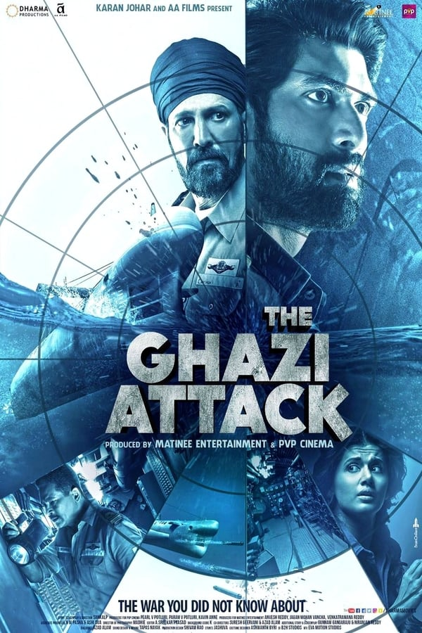 The Ghazi Attack (2017) Hindi 1080p | 720p | Blu-Ray | 2GB, 1.4GB | Download | Watch Online | Direct Links | GDrive