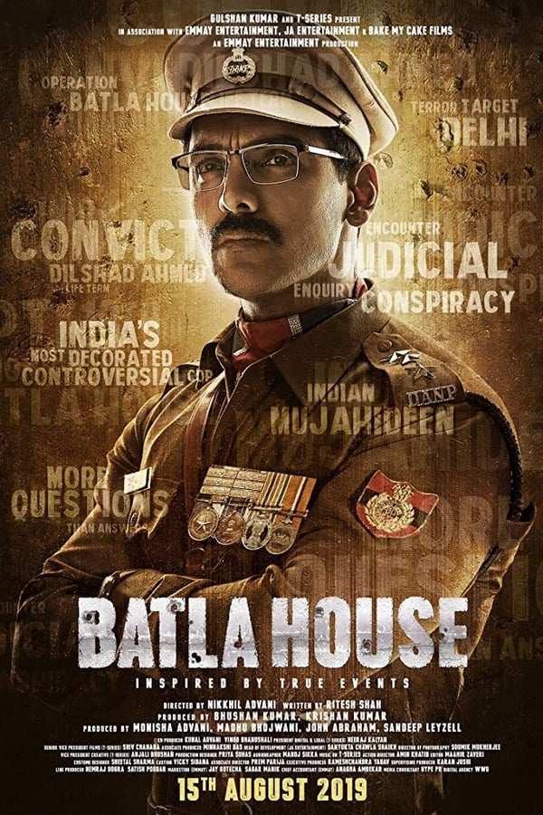 Batla House (2019) Hindi 1080p | 720p | 480p | WEB-DL | 1.45 GB,1 GB, 400 MB | Download | Watch Online | Direct Links | GDrive