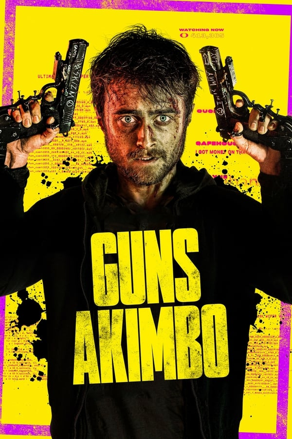 Guns Akimbo (2019) [English+Esub] | x264 WEB-HD | 720p |
