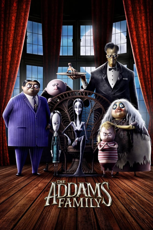 The Addams Family (2019) English Animation 1080p | 720p | 480p WEB-DL | 1.3GB,770MB,300MB | Download | Watch Animation Online | Direct Links | GDrive