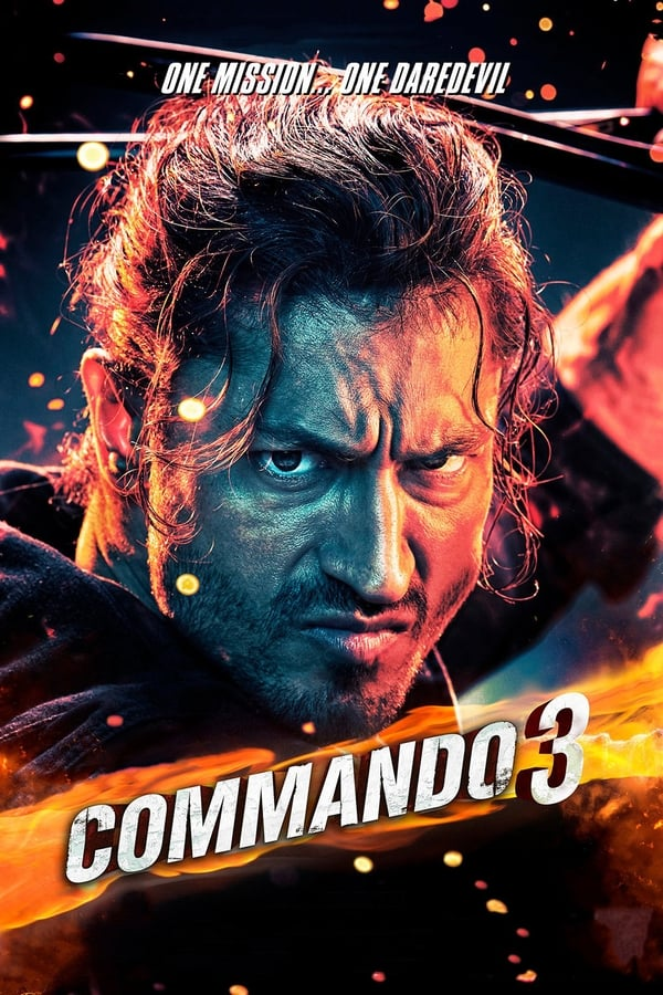 Commando 3 (2019) Hindi Full Movie 720p Pre DvDRip | 480 | 1.20 GB, 700 MB | Download | Watch Online | Direct Links | GDrive