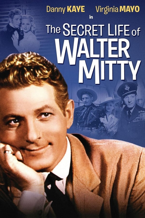 The Secret Life of Walter Mitty (1947) Poster