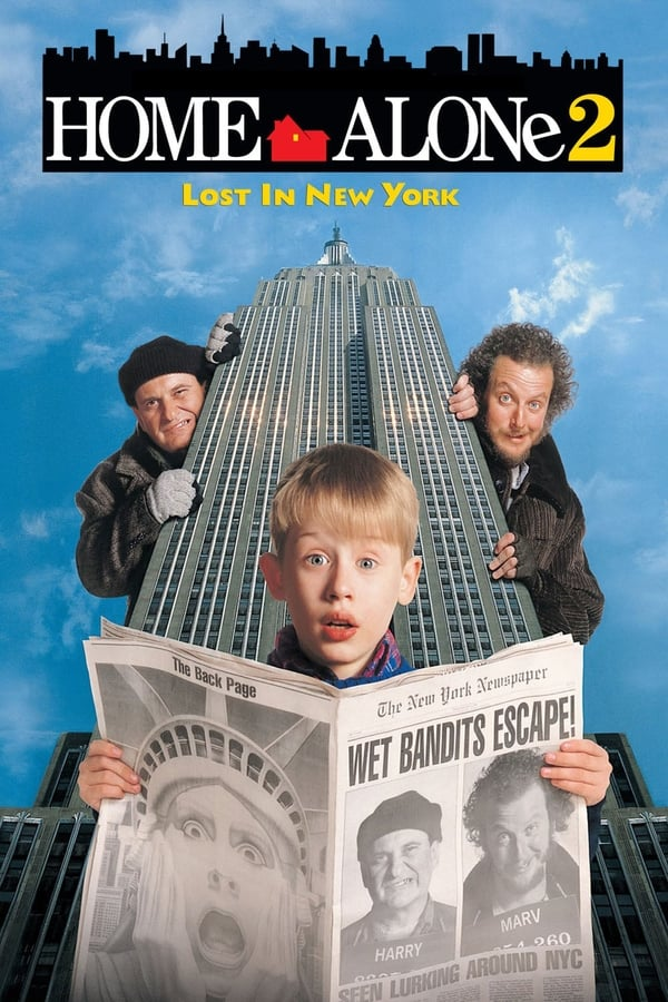 Home Alone 2: Lost in New York (1992) Dual Audio [Hindi + English] | x264 Bluray | 720p | 480p | Download | Watch Online | GDrive | Direct Links