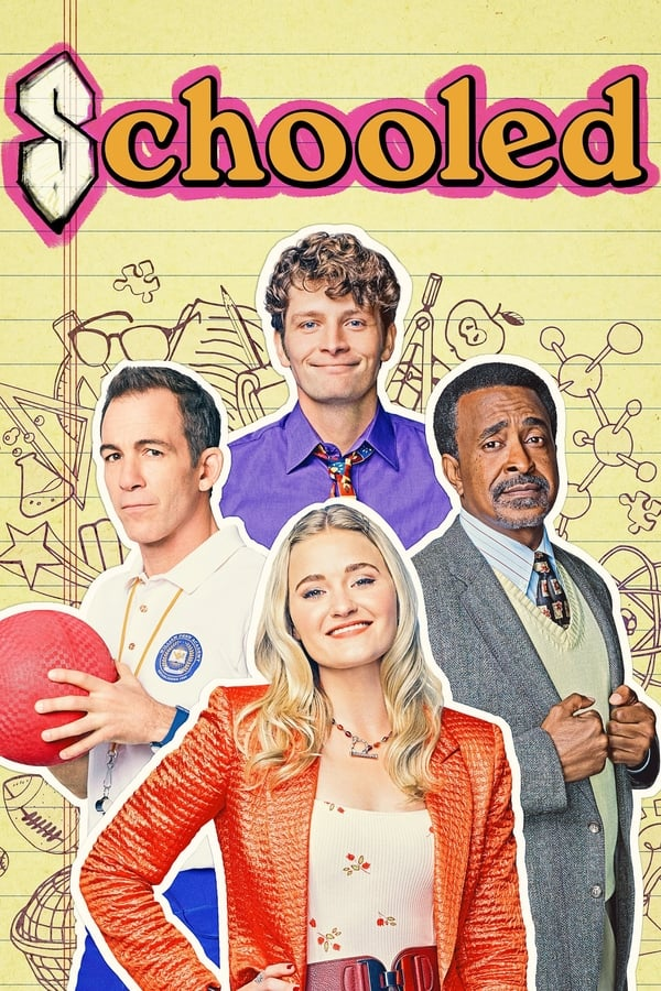 Schooled season 2 poster