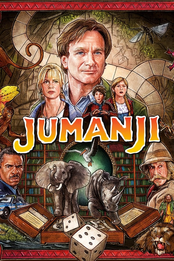 Jumanji (1995) Dual Audio [Hindi DD5.1 + English] | x264 Blu-Ray | 1080p | 720p| Download | Watch Online | GDrive | Direct Links