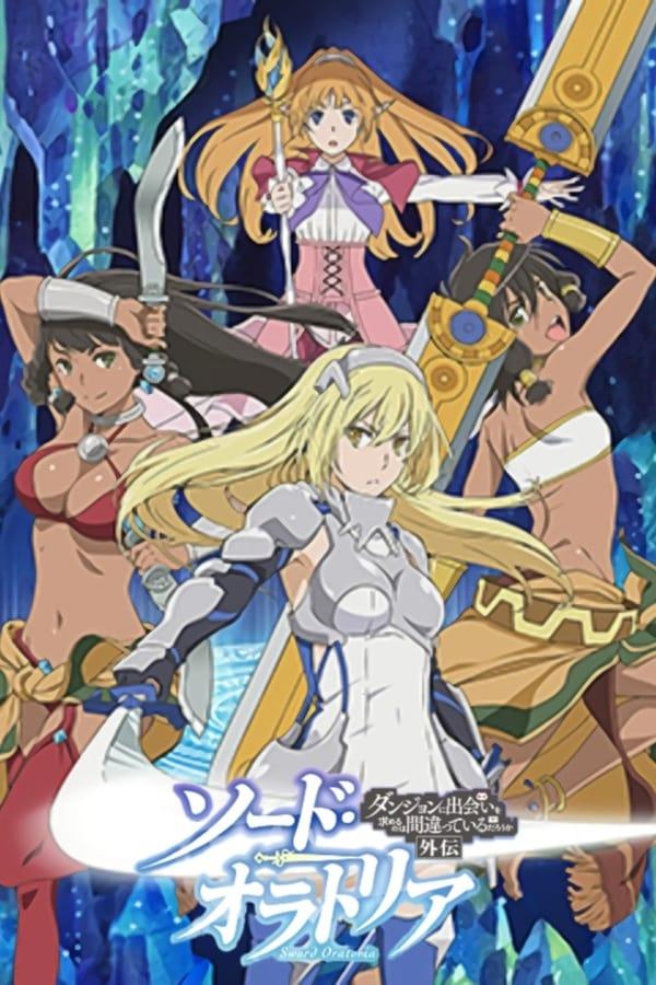 Assistir Dungeon Ni Deai O Motomeru No Wa Machigatteiru Darou Ka Gaiden: Sword Oratoria Online