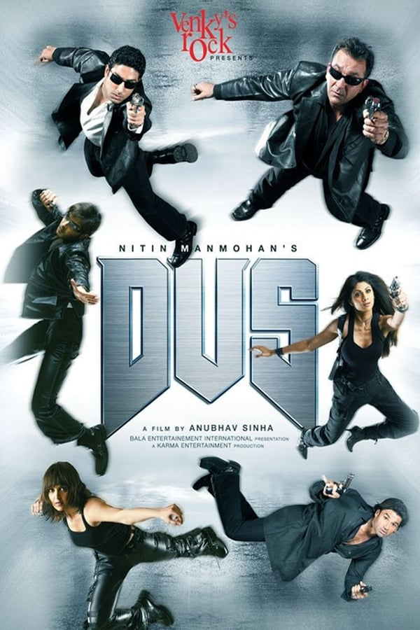 Dus (2005) Hindi ESub | x264 AMZN WEB-DL | 1080p | 720p | 480p | Download | Watch Online | GDrive | Direct Links