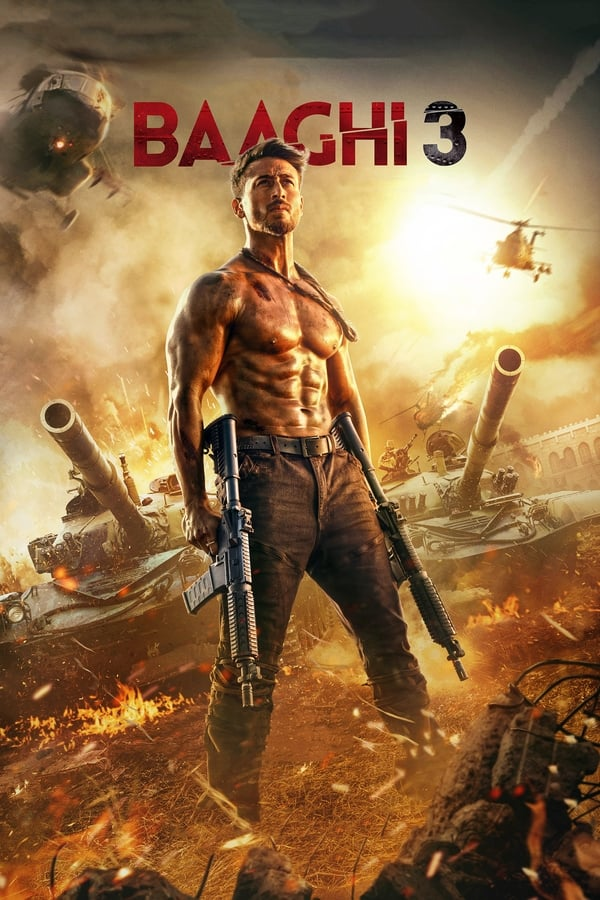 Baaghi 3 (2020) Hindi | x264 HS WEB-DL | 1080p | 720p | 480p | Download | Watch Online | GDrive | Direct Links