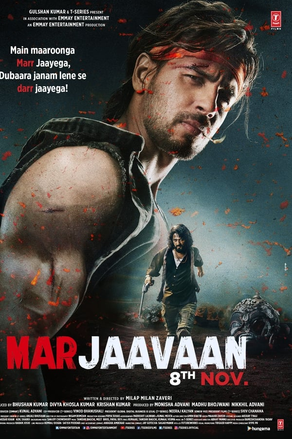 Marjaavaan (2019) Hindi | 10bit AMZN WEB-Rip HEVC | 1080p | 720p | Download Bollywood Movies | Watch Online | Direct Links | GDrive