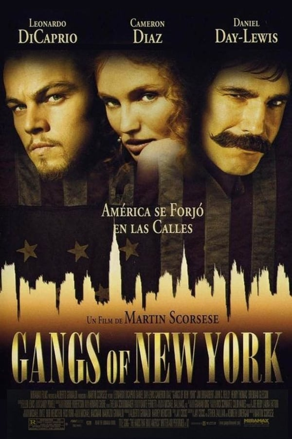 Pandillas de Nueva York (Gangs of New York) ()