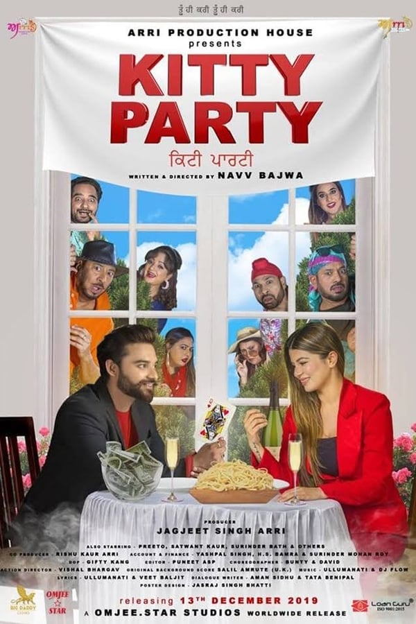 Kitty Party (2019) Punjabi Full Movie 720p PreDVD Rip | 1.2 GB|  Download | Watch Online | Direct Links | GDrive