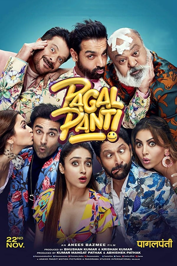 Pagalpanti (2019) Hindi | x265 10bit AMZN WEB-Rip HEVC | 1080p | 720p | 480p | Download | Watch Online | GDrive | Direct Links