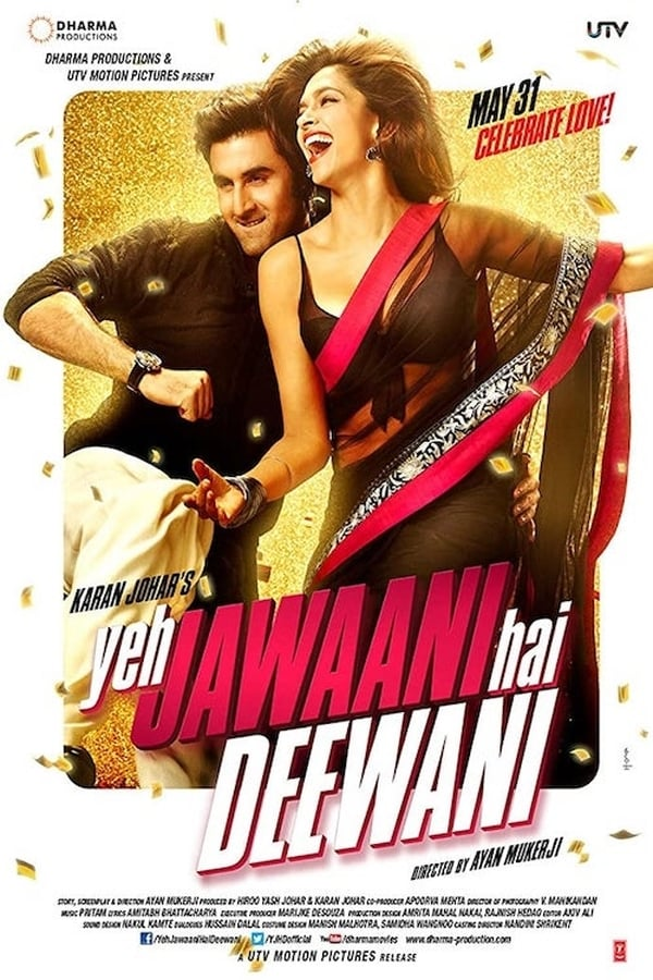 Yeh Jawaani Hai Deewani (2013) Hindi Full Movie 720p HDRip 1.4GB Download